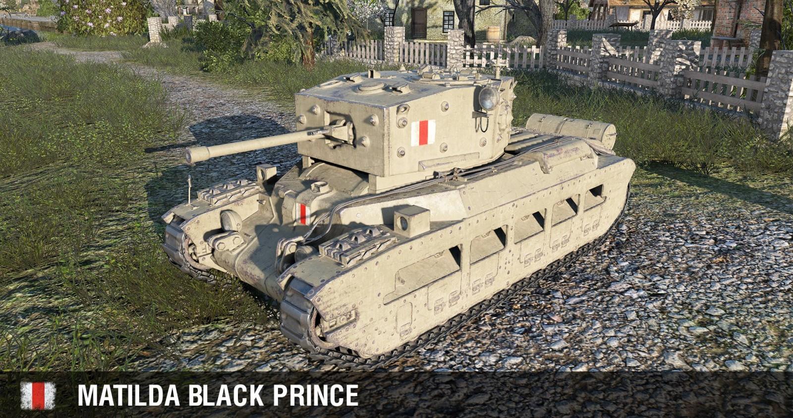 Svet tankov Matilda čierny princ dohazování