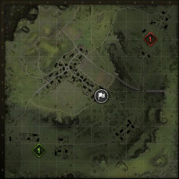 на каких из карт можно играть в режиме встречный бой