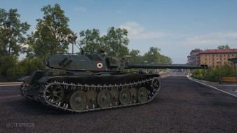 Скриншоты Bat Chatillon Bourrasque с супертеста World of Tanks