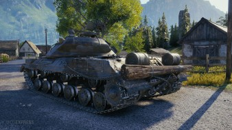 3D-стиль «Щука» на танк ИС-3 в World of Tanks