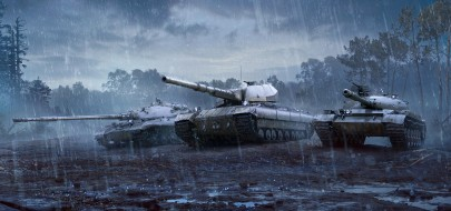Акция: В бой на Объект 140, Объект 277 и Super Conqueror в World of Tanks