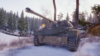 Screenshots A46 from World of Tanks Super Test