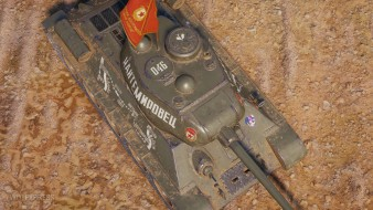 "3D-style ""Kantemirovets"" on the T-34-85 in World of Tanks"