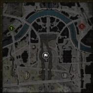 1.9.1 World of Tanks güncellemesinde Berlin haritası.  Son sürüm