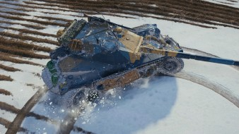 3D-стиль для танка Panhard EBR 105 в обновлении 1.9.1 World of Tanks