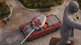 3D-стиль для танка Centurion Mk. I в обновлении 1.9.1 World of Tanks
