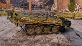 Историчный 3D-стиль «Хель» на танк Strv 103B из патча 1.9.1 World of Tanks