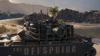 TL-1 LPC: танк The Offspring в 3D-стиле «Pretty Fly» в продаже World of Tanks