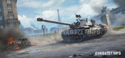 Марафон на танк Bourrasque в World of Tanks